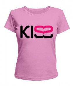 Женская футболка KISS2