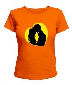 Женская футболка Нежность