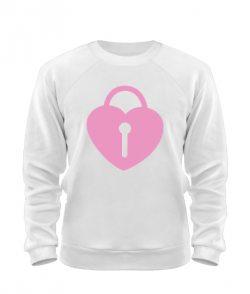 Свитшот Сердца ключ (для нее)