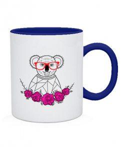 Чашка Коала-хипстер