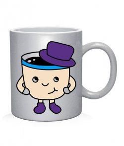 Чашка арт Кофе и пирожуля (для него)