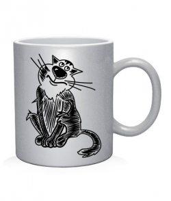 Чашка арт Любимый кот (для него)