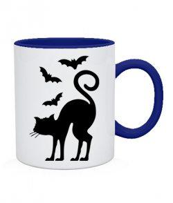 Чашка Кот и летучие мыши