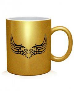 Чашка арт Тату Крыла