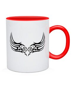 Чашка Тату Крыла