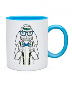 Чашка Кролик-хипстер