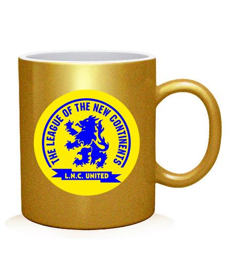 Чашка арт Лига новых континентов