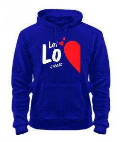 Толстовка Let love create (для него)