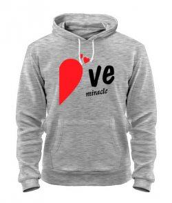 Толстовка Let love create (для нее)