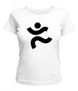 Женская футболка Лого спорт