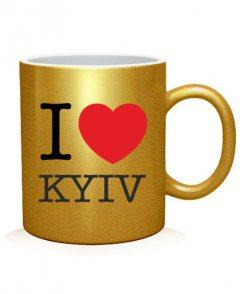 Чашка арт I love Kyiv