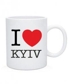 Чашка I love Kyiv