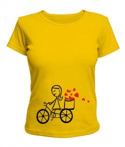 Женская футболка Влюбленная парочка №4