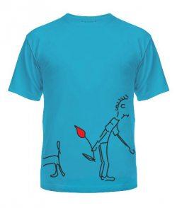 Мужская футболка Влюбленная парочка