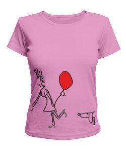 Женская футболка Влюбленная парочка