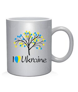 Чашка арт Я люблю Ukraine