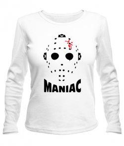 Женский лонгслив Maniac