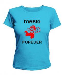 Женская футболка Mario Вариант 4