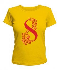 Женская футболка 8 Марта - узор