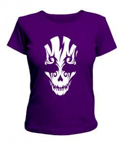 Женская футболка Череп №14