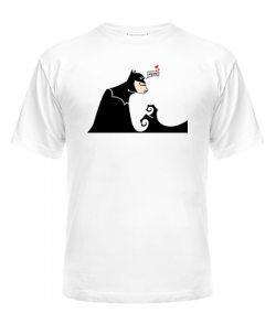Мужская футболка Бетмен и Женщина-кошка