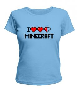 Женская футболка Minecraft Вариант 2