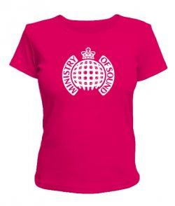 Женская футболка Ministry of Sound