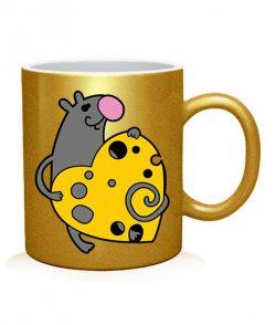 Чашка арт Мышки (для него)