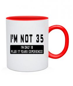 Чашка Мне не 35!