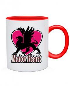 Чашка Сердце-мотор