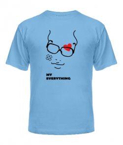Мужская футболка You are my everything