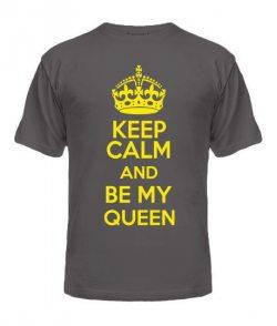 Мужская футболка Keep Calm and Be My