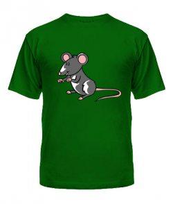 Мужская футболка Мышь и сыр