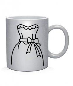 Чашка арт Жених и невеста (для нее)