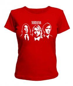 Женская футболка Nirvana Вариант №2