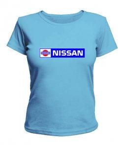 Женская футболка Нисан (Nissan)