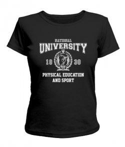Женская футболка НУФВСУ