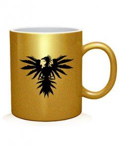 Чашка арт Ободраный орел