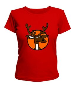 Женская футболка Olen1