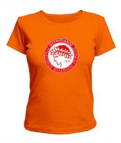 Женская футболка Олимп