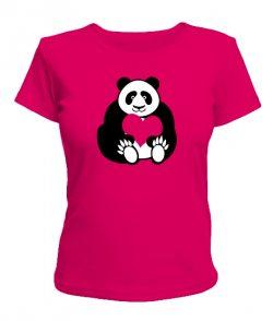 Женская футболка Пандочка