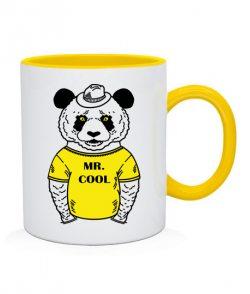 Чашка Панда-хипстер