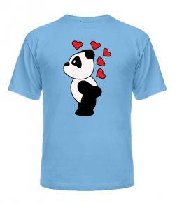 Мужская футболка Панды