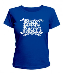 Женская футболка Panic at the disco
