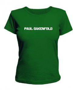 Женская футболка Paul Oakenfold