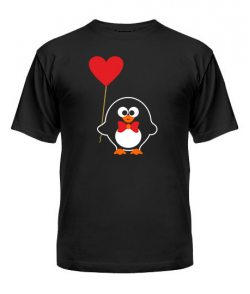 Мужская футболка Пингвинята