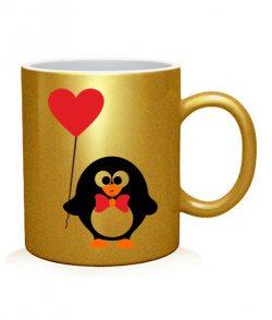 Чашка арт Пингвинята (для него)