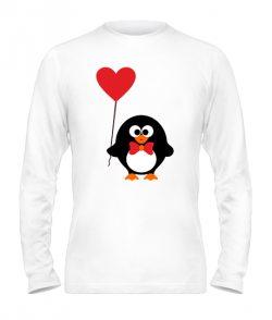 Мужской лонгслив Пингвинята