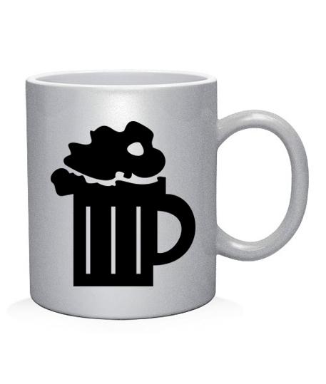 Чашка арт Бокал пива