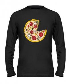 Мужской лонгслив Пицца